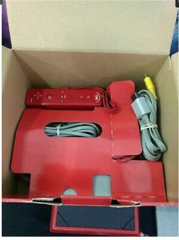 Imagen Wii roja consola