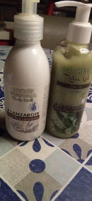 Imagen producto Lote de botes de gel y body milk 2