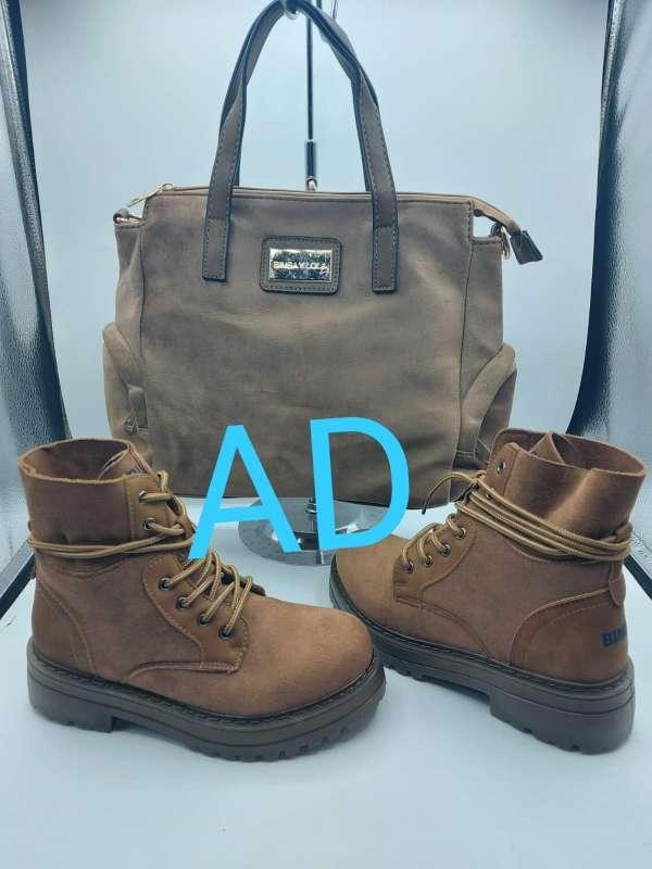 Imagen producto Conjunto bolso botas  4