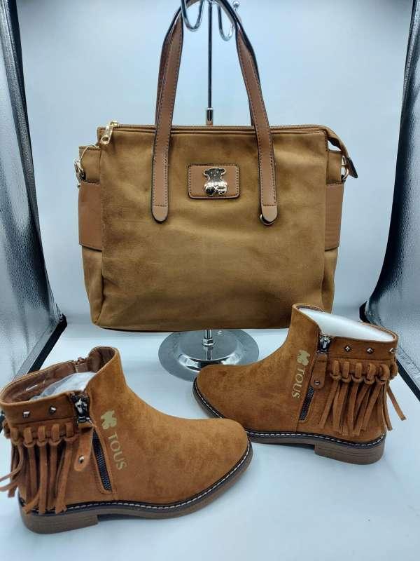Imagen conjunto bolso botas