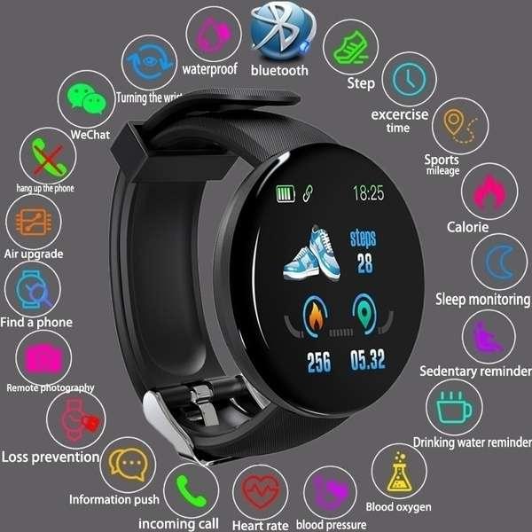 Imagen producto SMARTWATCH reloj pulsometro, notificaciones, podómetro. 5