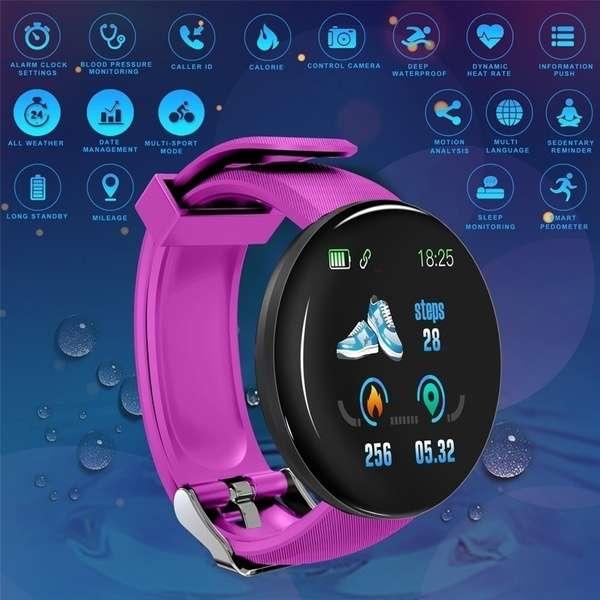 Imagen producto SMARTWATCH reloj pulsometro, notificaciones, podómetro. 3
