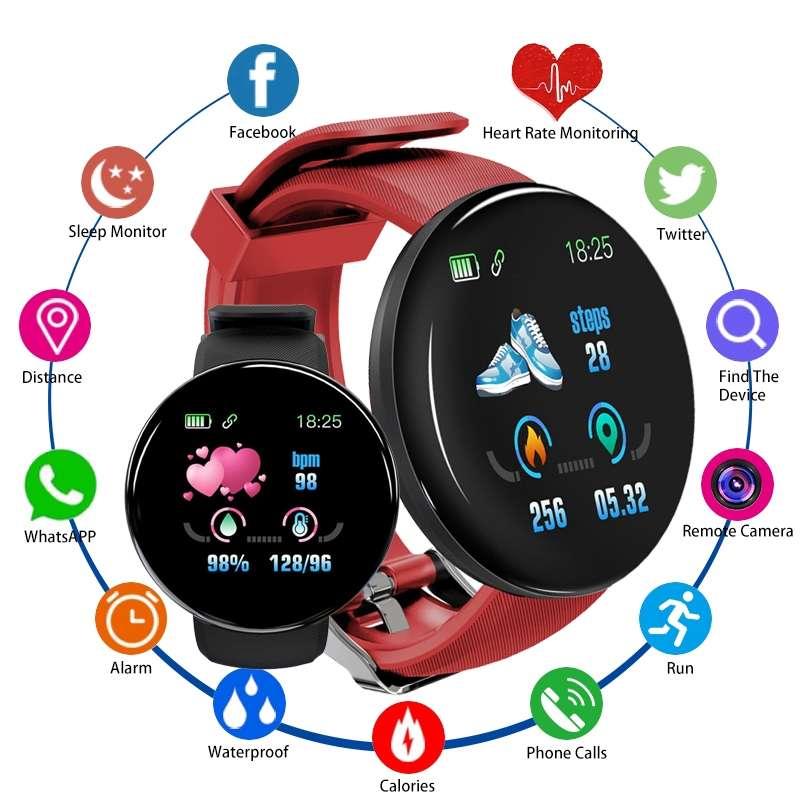 Imagen producto SMARTWATCH reloj pulsometro, notificaciones, podómetro. 4