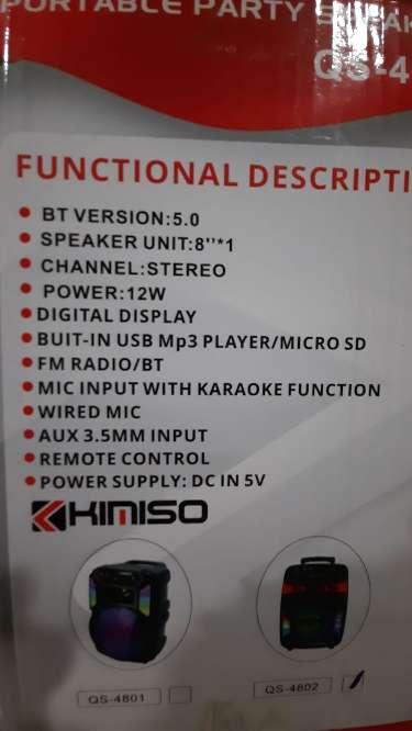 Imagen producto Altavoz karaoke 2