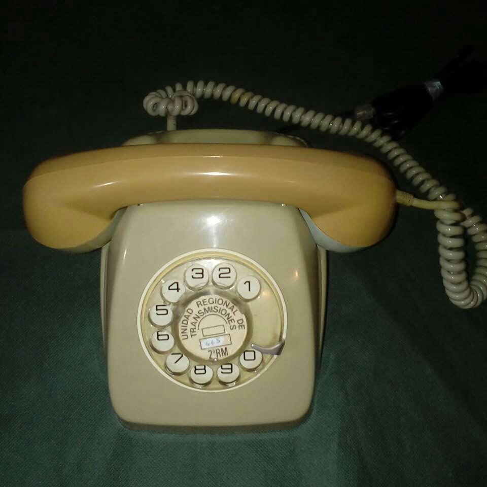Imagen Telefono heraldo fijo y antiguo.