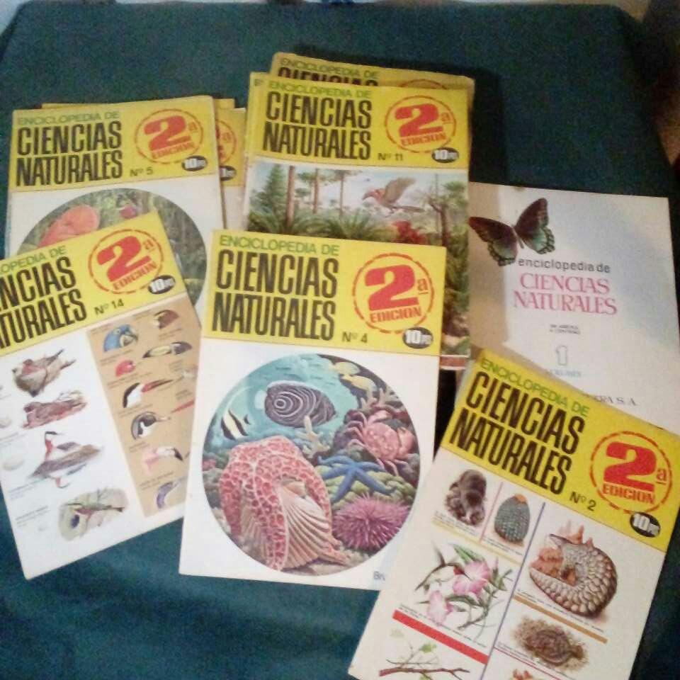 Imagen 36 revistas de ciencias naturales año 1969.