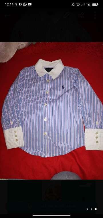 Imagen camisa niña Ralph Lauren