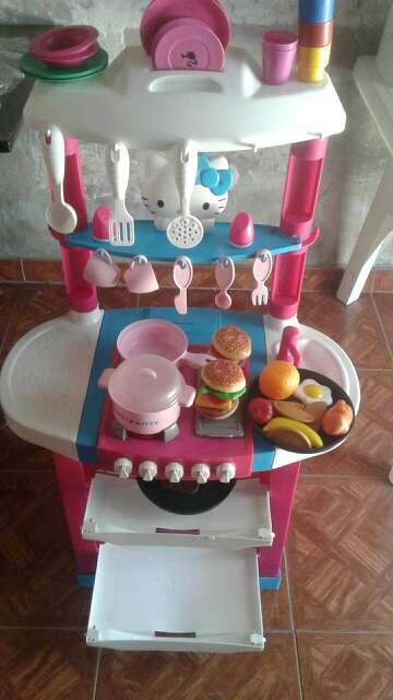 Imagen cocina hello kity..