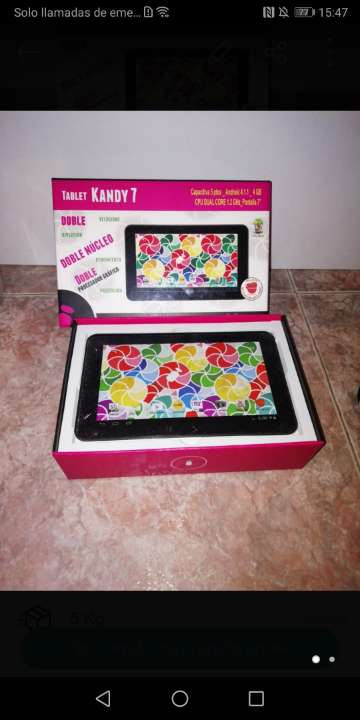 Imagen Tablet para piezas