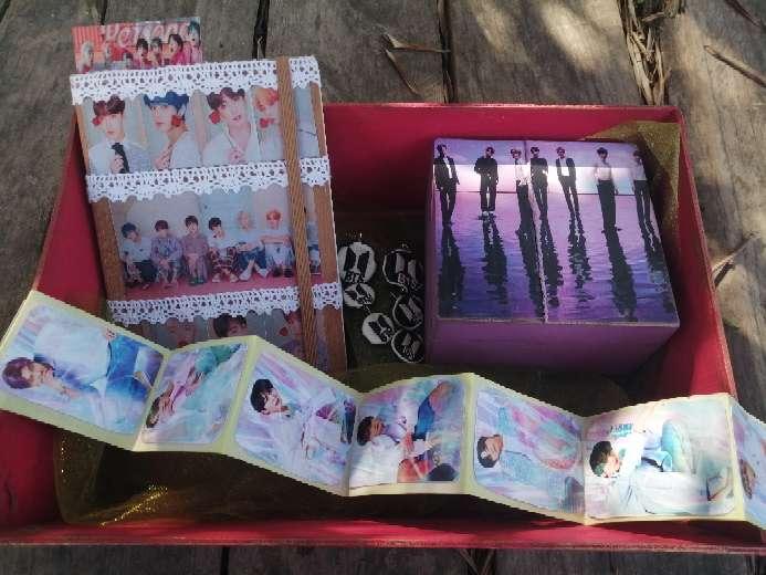 Imagen producto Cesta BTS (K-POP)  1