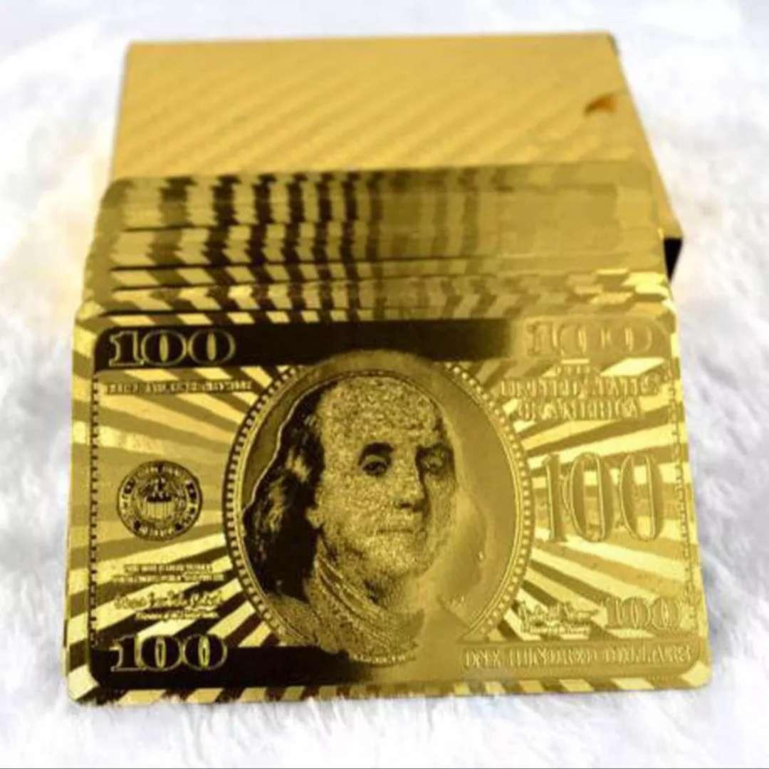 Imagen Cartas bañadas en oro de  24KL