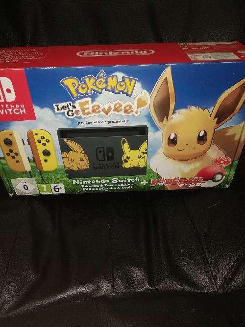 Imagen Nintendo Switch Edición Coleccionista Pokémon Lets Go EEVEE