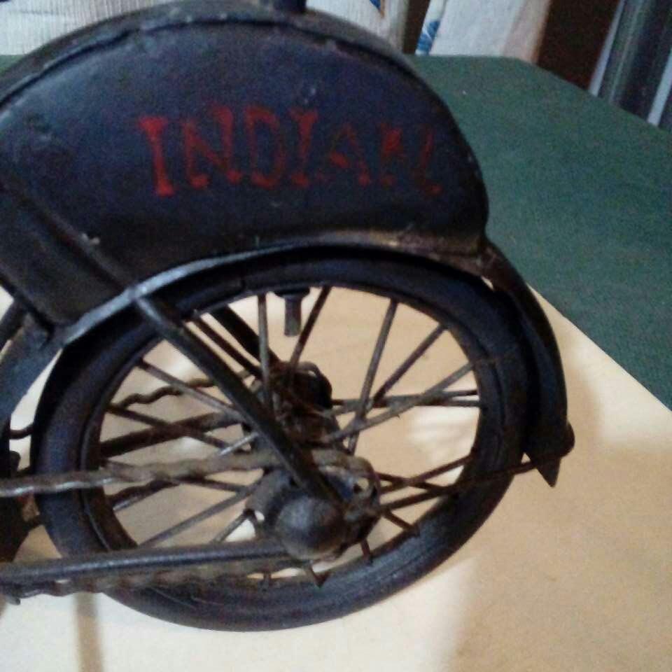 Imagen producto Bicicleta echa a mano. Antiguisima  6