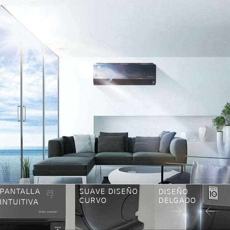 Imagen producto Aire acondicionado LG Dual Cool inverter split frio/calor 5000 frigorias  6