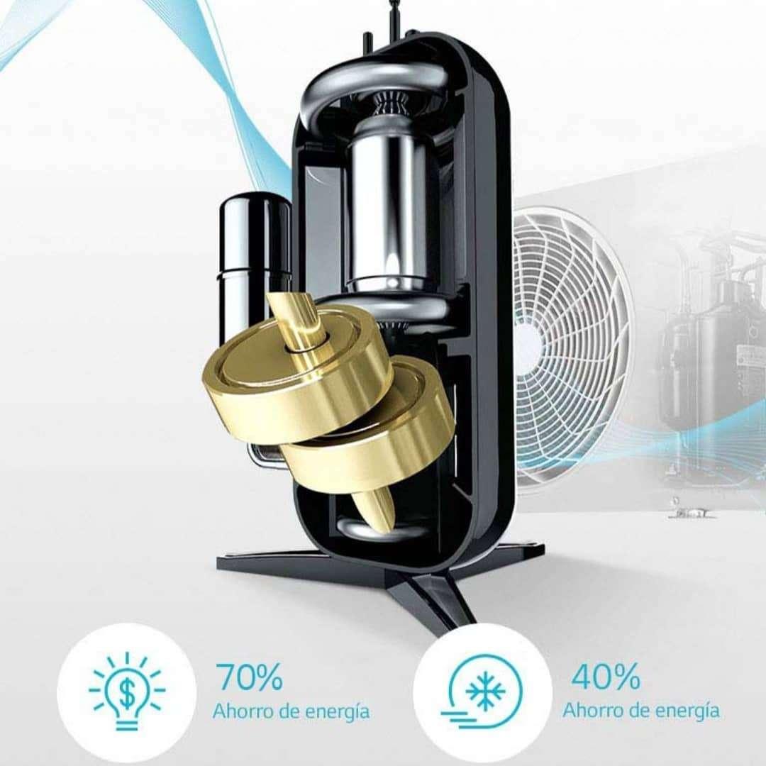 Imagen producto Aire acondicionado LG Dual Cool inverter split frio/calor 5000 frigorias  9