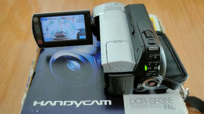 Imagen producto Videocámara Sony DCR-SR35E 3