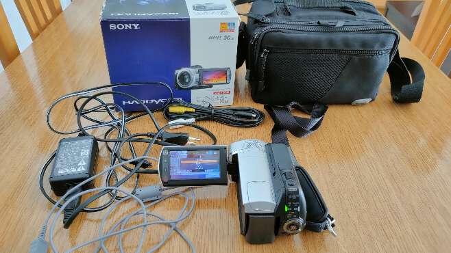 Imagen producto Videocámara Sony DCR-SR35E 1