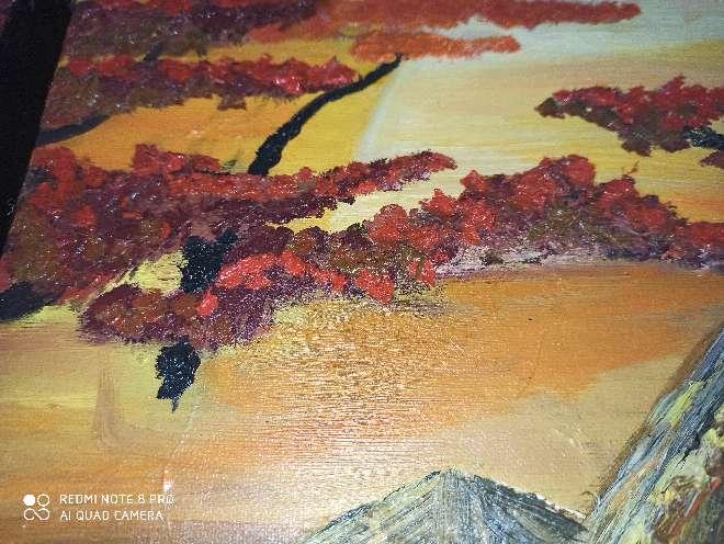 Imagen producto Cuadro pintado a mano y hecho a medida 9