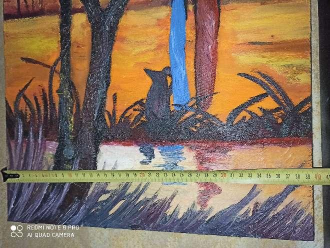 Imagen producto Cuadro pintado a mano y hecho a medida 6