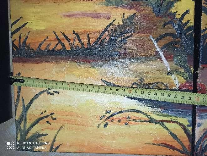 Imagen producto Cuadro pintado a mano y hecho a medida 3