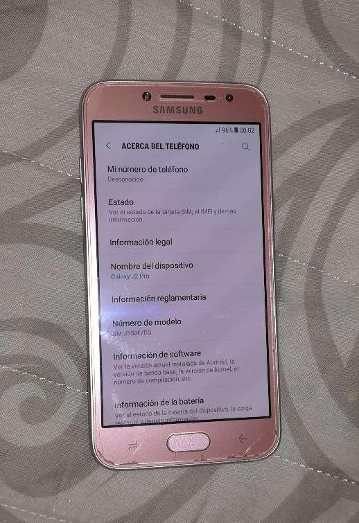 Imagen producto Samsung Galaxy J2 Pro 2018 (SM-J250F/DS) Rosa 2