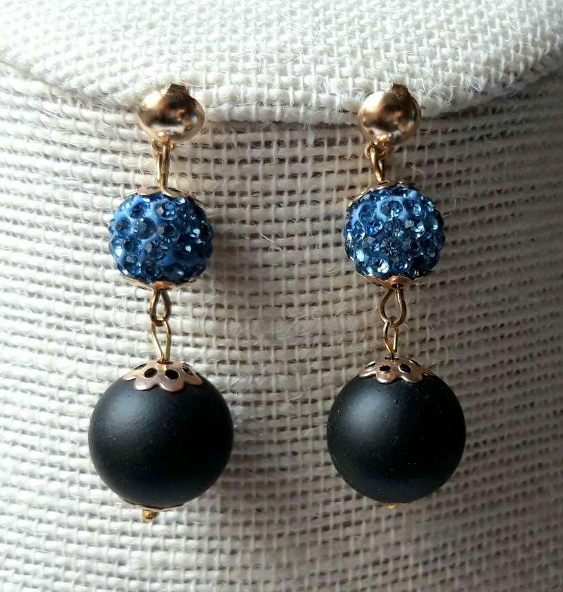 Imagen Collar y Pendientes Artesanales