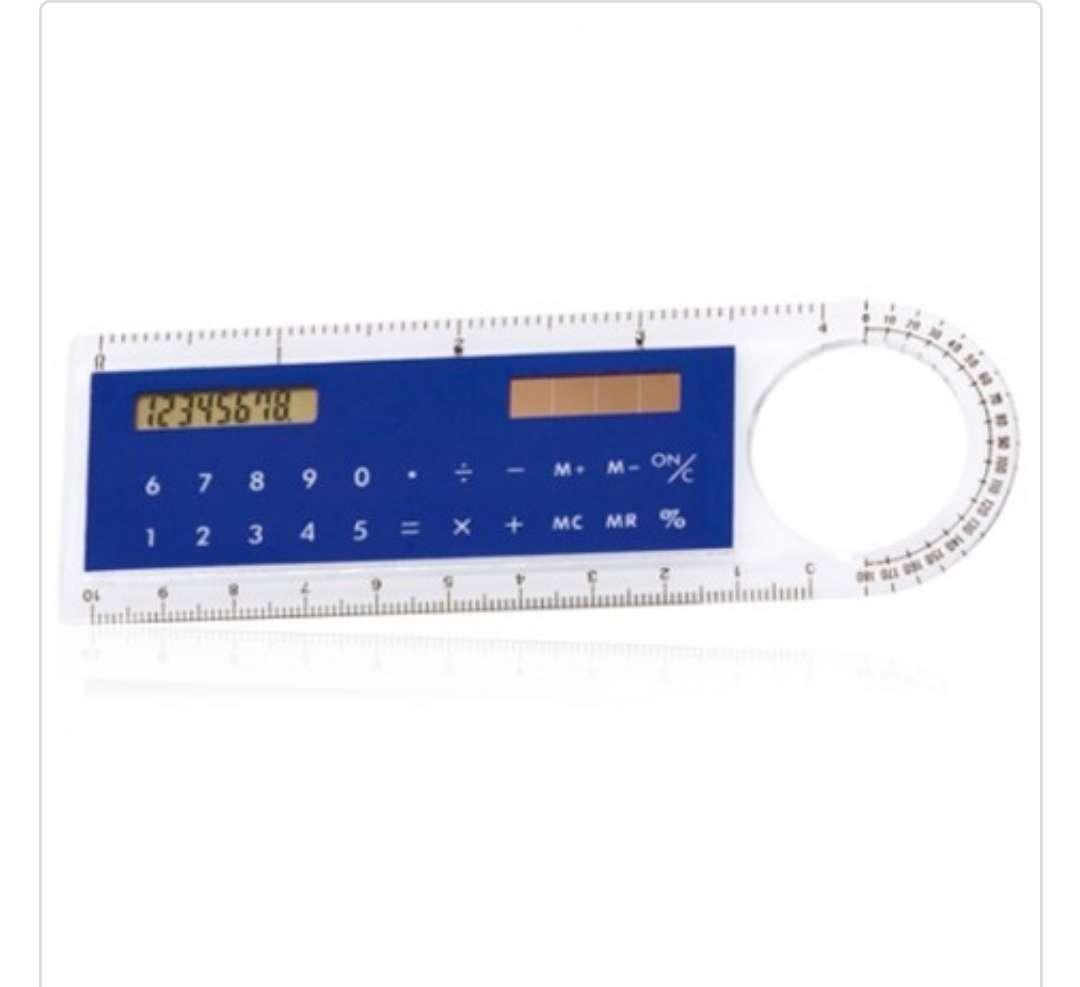 Imagen producto Regla / Calculadora solar / Lupa 1