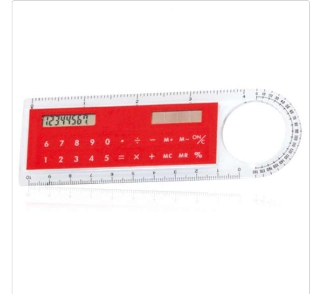 Imagen producto Regla / Calculadora solar / Lupa 4