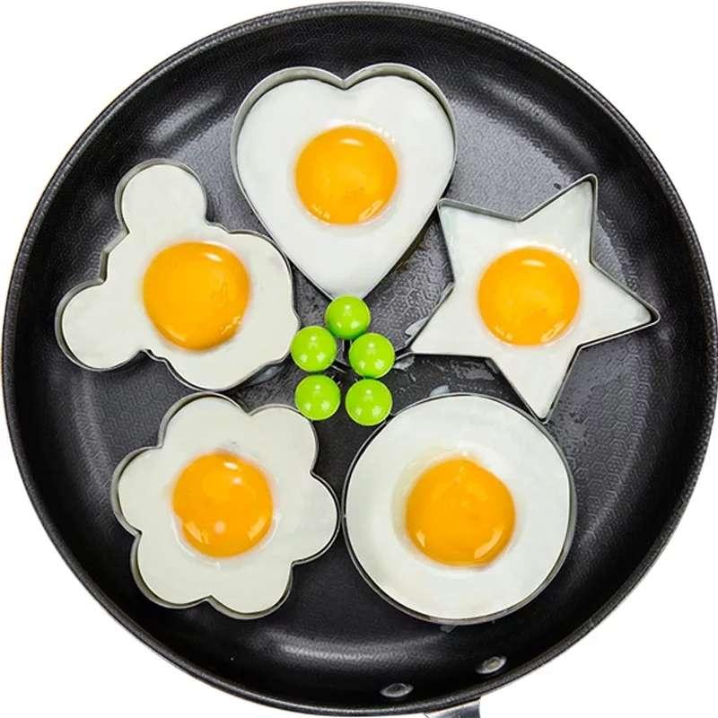 Imagen Set de Moldes para Huevos Fritos o Tortitas