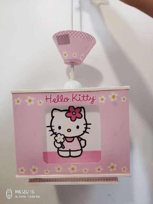 Imagen Lampara de techo Hello Kitty