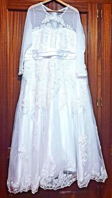 Imagen producto ¡BLACK WEEK! Vestido de novia, 2 piezas. 1