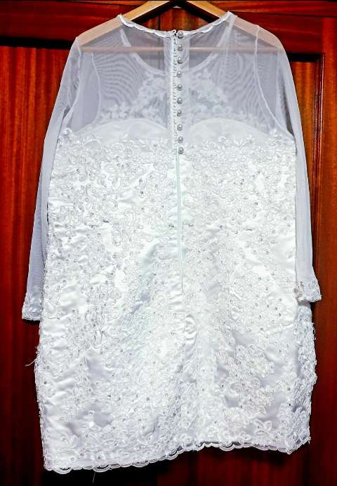 Imagen producto ¡BLACK WEEK! Vestido de novia, 2 piezas. 4