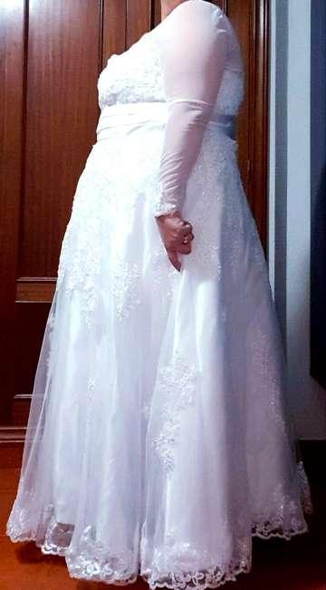 Imagen producto ¡BLACK WEEK! Vestido de novia, 2 piezas. 8