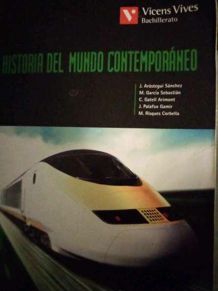Imagen Libro Historia Mundo Contemporáneo Bachillerato España