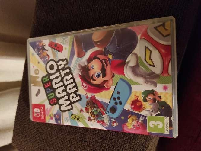 Imagen Mario party switch casi nuevo