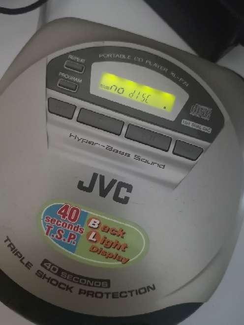 Imagen Discman DVD JVC