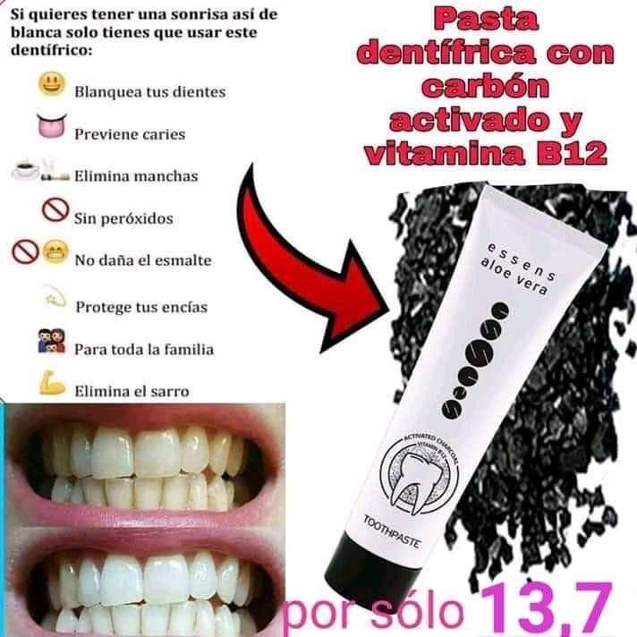 Imagen Pasta Dental Carbón sin Flúor