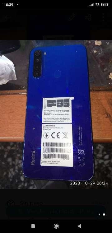 Imagen Xiaomi note 8 t