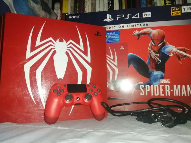 Imagen PS4 1T Spiderman Edition