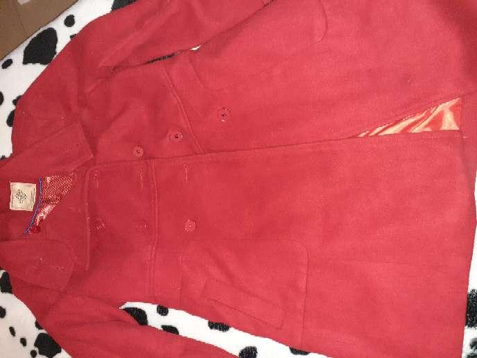 Imagen blazer rojo talle M