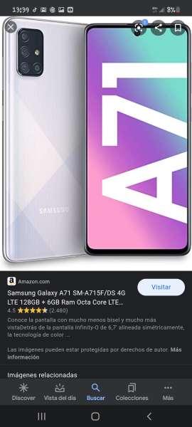 Imagen Vengo Samsung Galaxy A71 5G