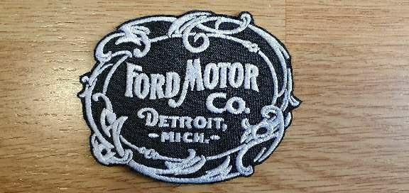 Imagen Parche bordado Ford Motor Vintage