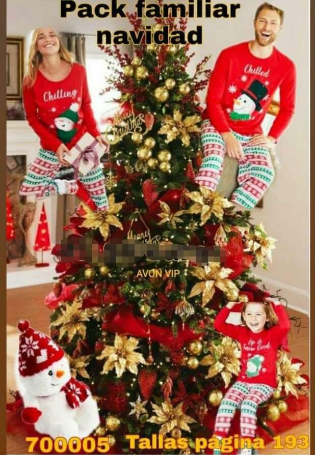 Imagen Pijama navideño para toda la familia