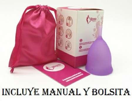 Imagen  kit completo  copa menstrual + vaso esterilizador de CONEJO+ BOLSITA DE VIAJE