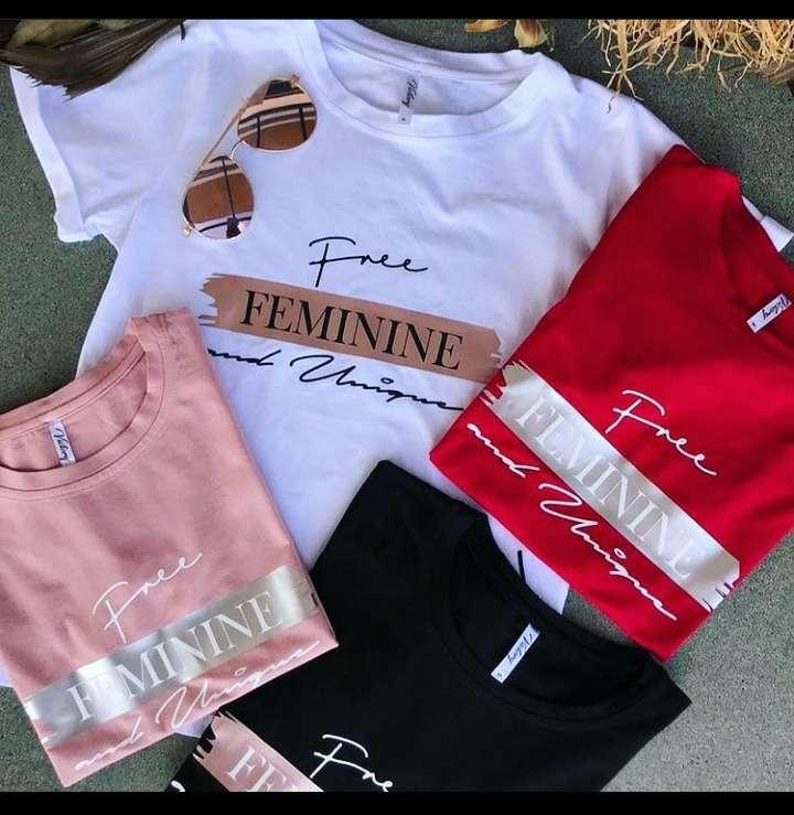 Imagen Camisas, blusones cortos y camibuzos, al mayor y detal! Excelencia en precios.