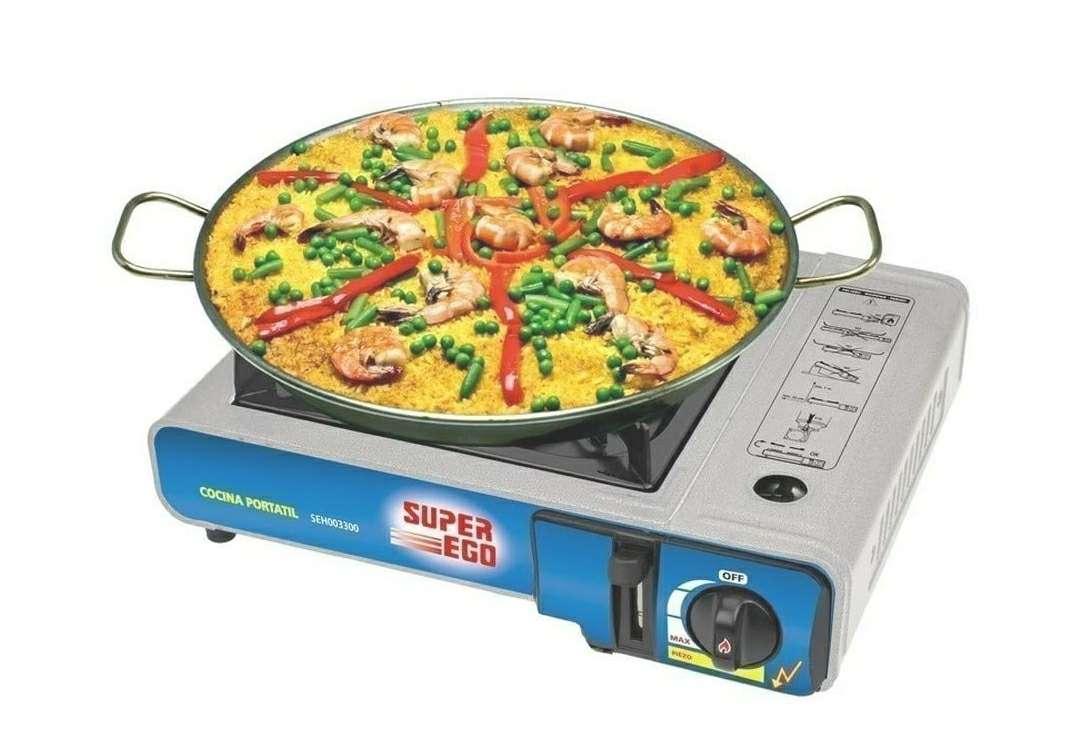 Imagen producto Cocina Camping Gas SuperEgo Nueva 5