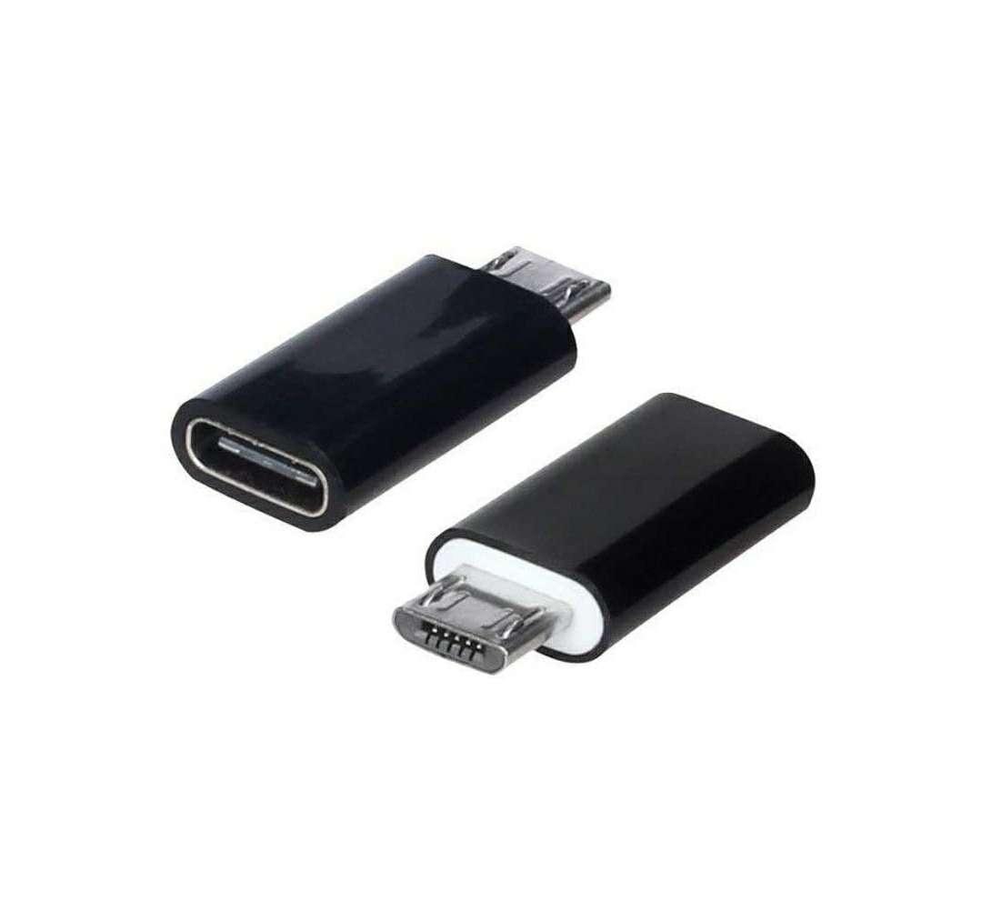 Imagen Adaptador De Cable Micro USB A Tipo C Nuevo