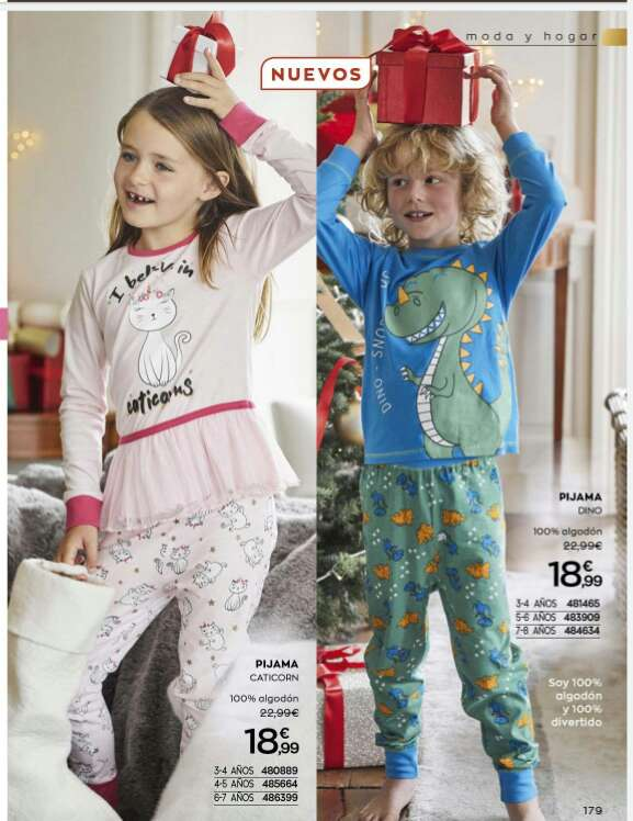 Imagen Pijama niña y niño