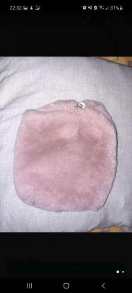 Imagen Bolso pelitos rosa