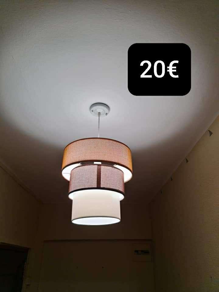 Imagen Lote cuatro lamparas